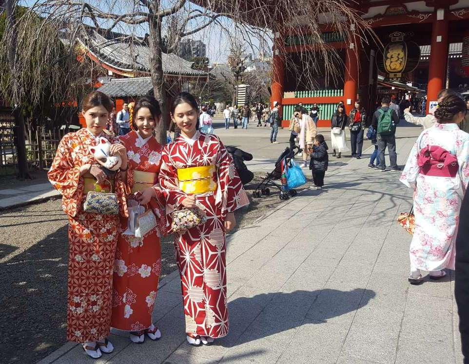 Erste Japanreise